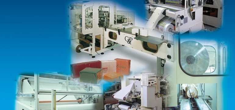 TISSUE PAPER CONVERTING MACHINES AND PACKAGING MACHINES